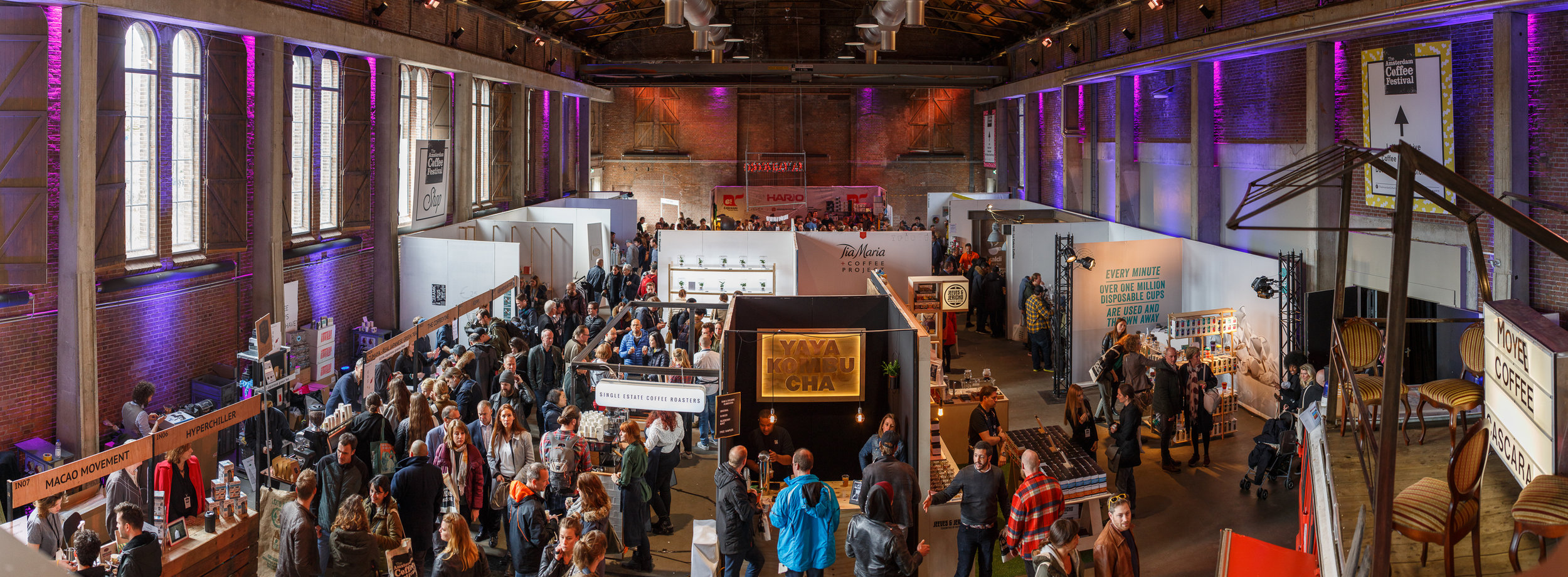 Amsterdam Coffee Festival 2017 Panorama