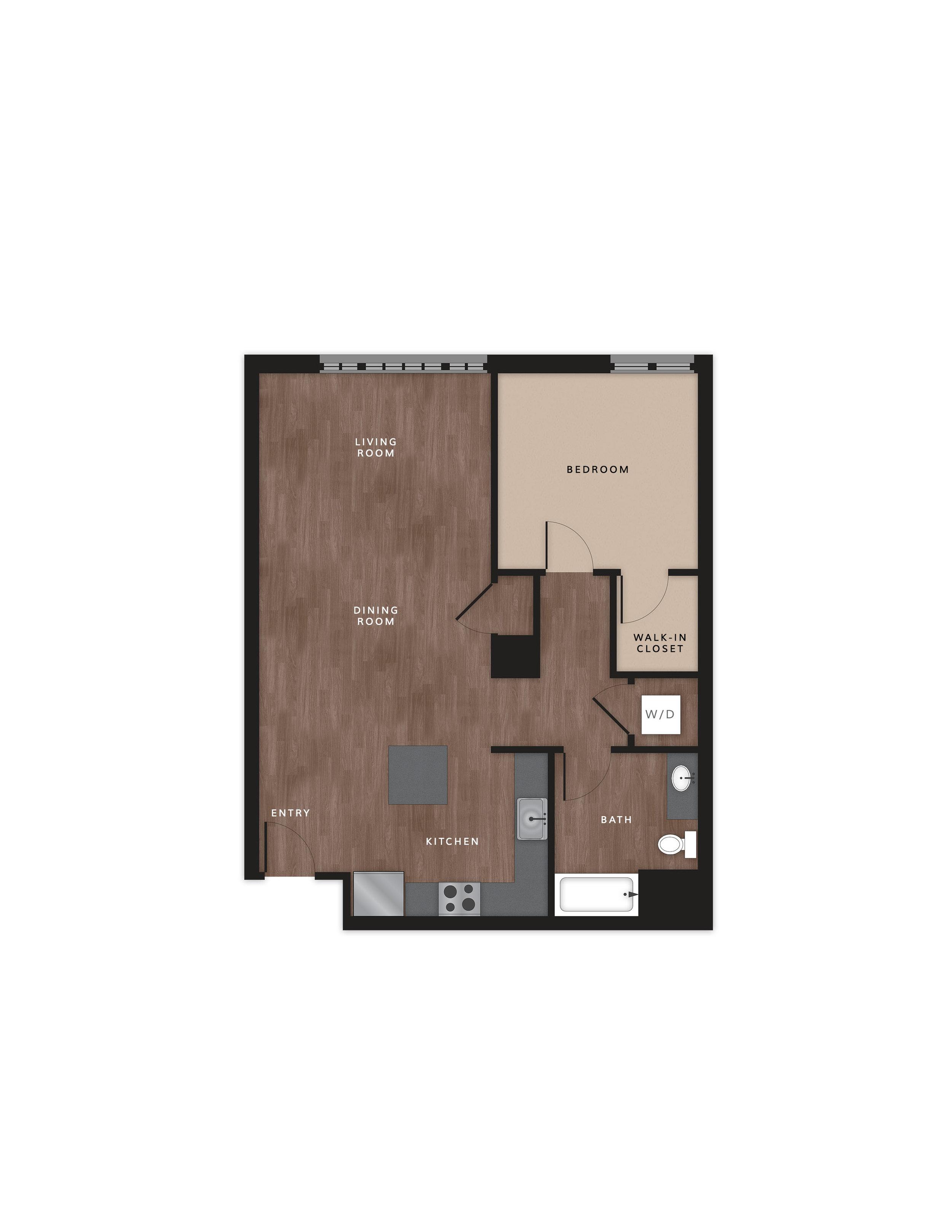 Alvin's Corner Floor Plan - Model 1B