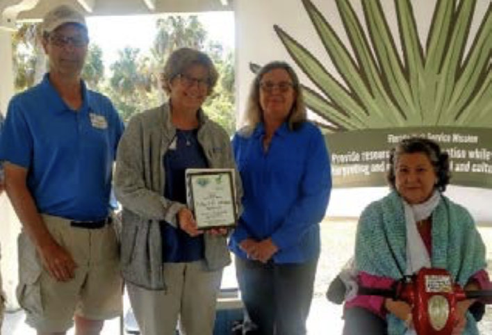 Philip and Ann (Mickie) Anderson  Team of 2 of the Year – Visitor Service  Myakka River State Park
