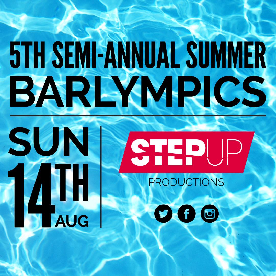 5th Semi Annual Barlympics Flyer