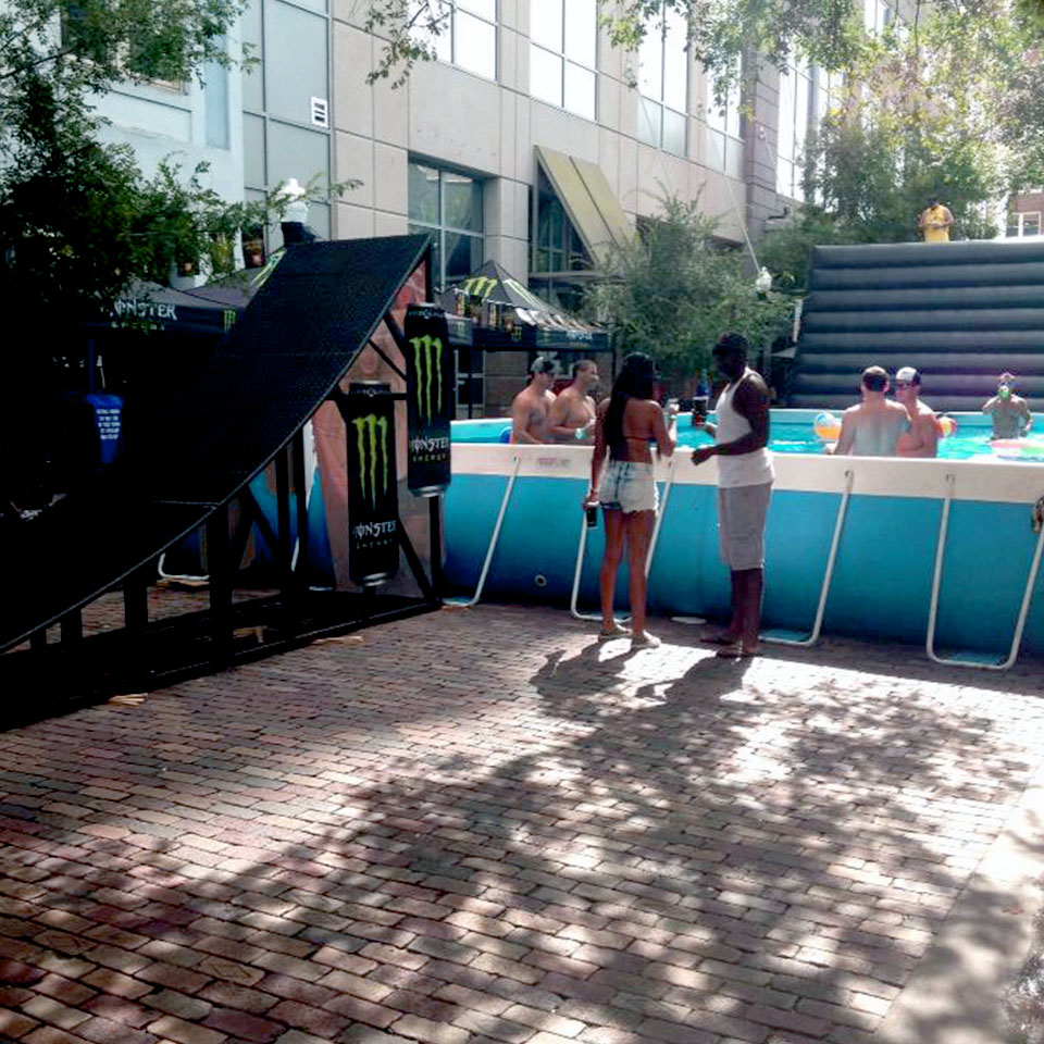 Step Up Productions pool party