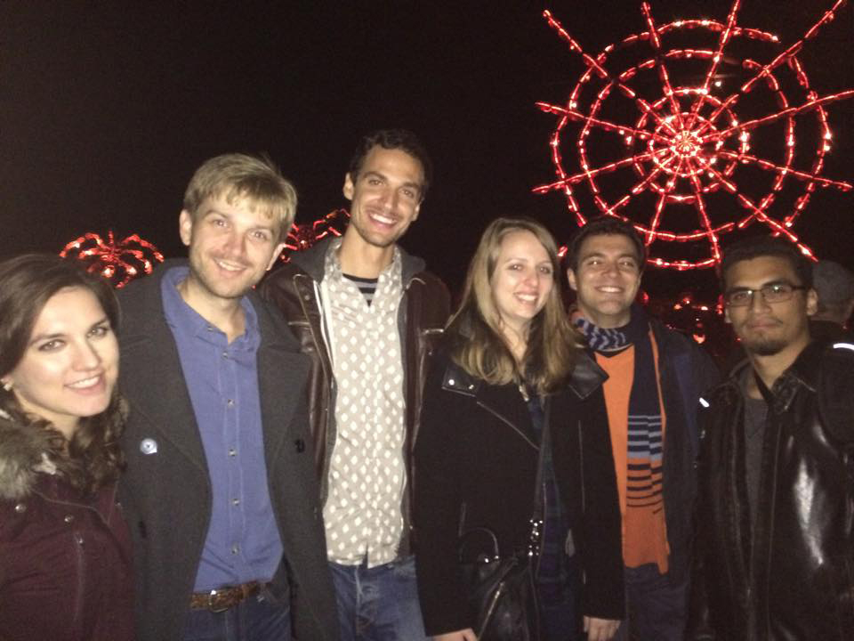 The Lab at the 2015 Great Jack O'Lantern Blaze