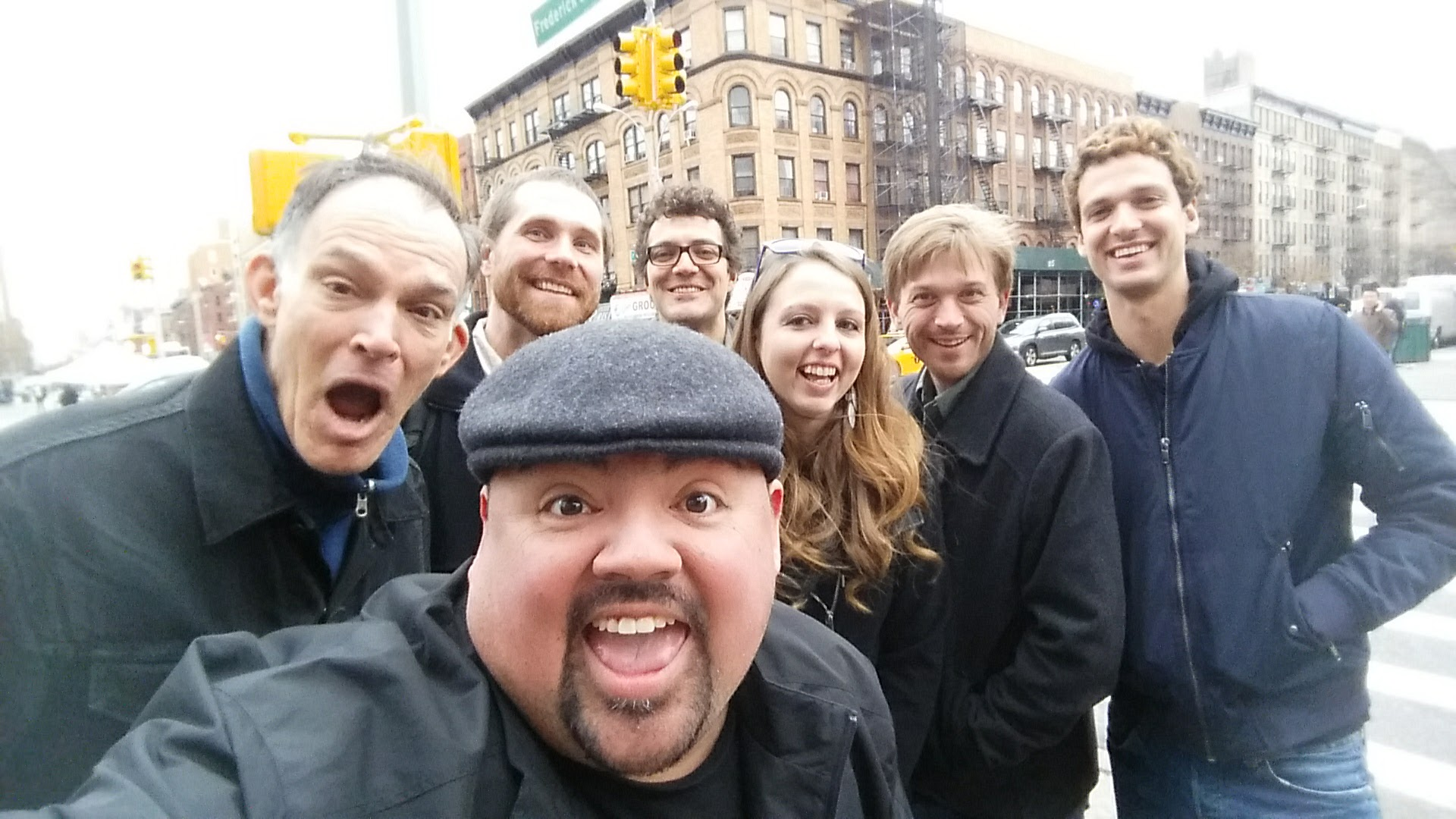 The Lab Meets a Celebrity in Harlem December 2016