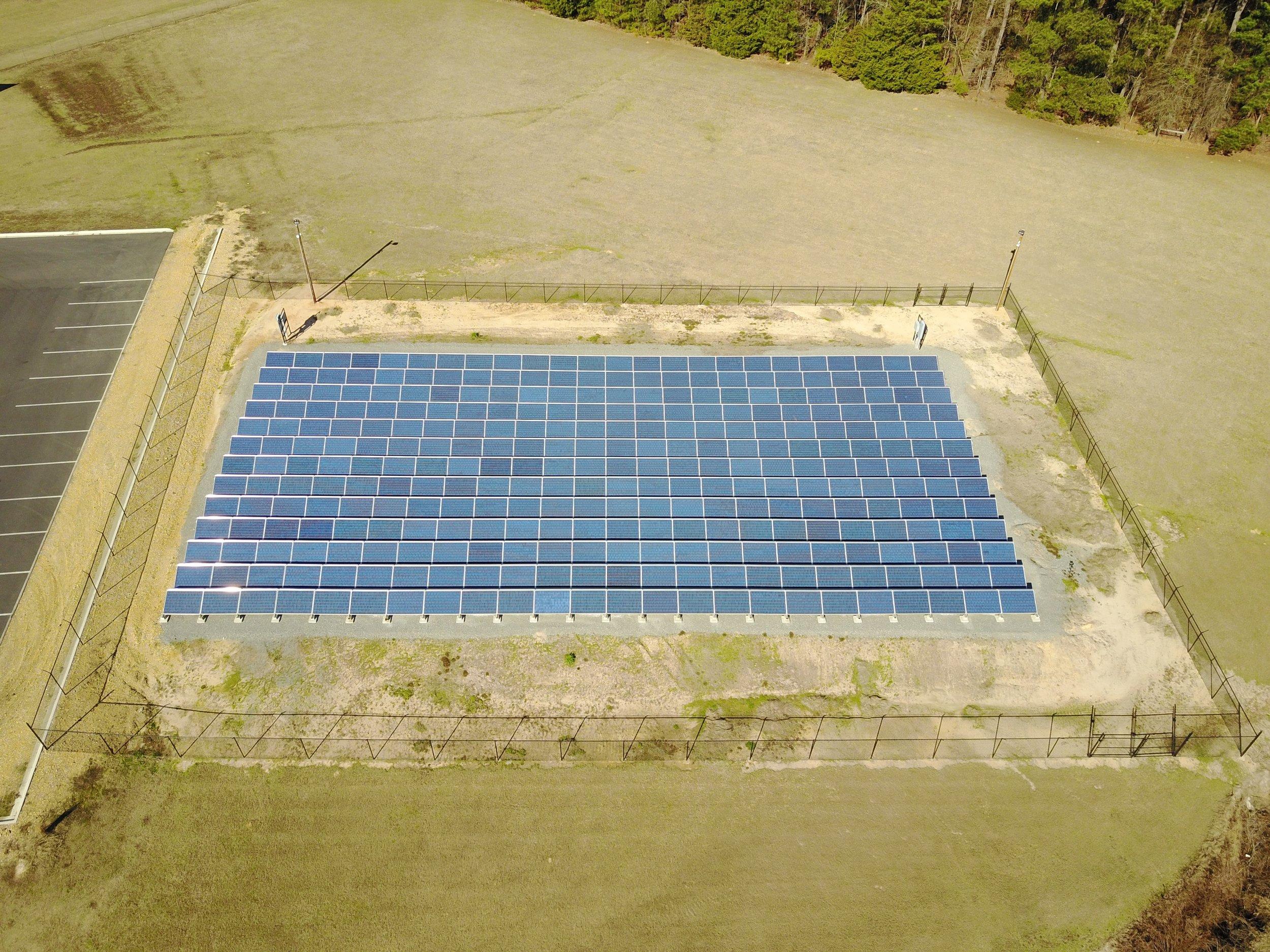 Ouachita Electric Cooperative (OECC) - 100 KW Ground Mount System - CAMDEN, ARKANSAS