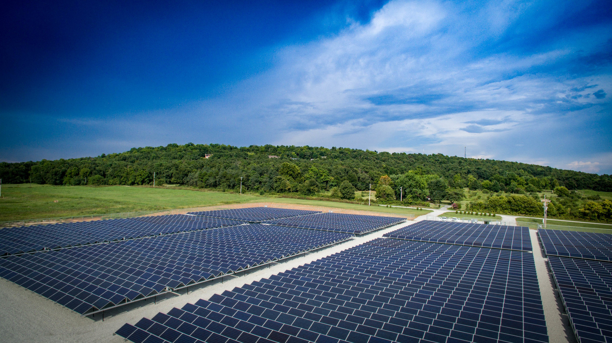 Ozarks Electric Cooperative (OECC) - 1 MW Ground Mounted System on Piers - SPRINGDALE, ARKANSAS