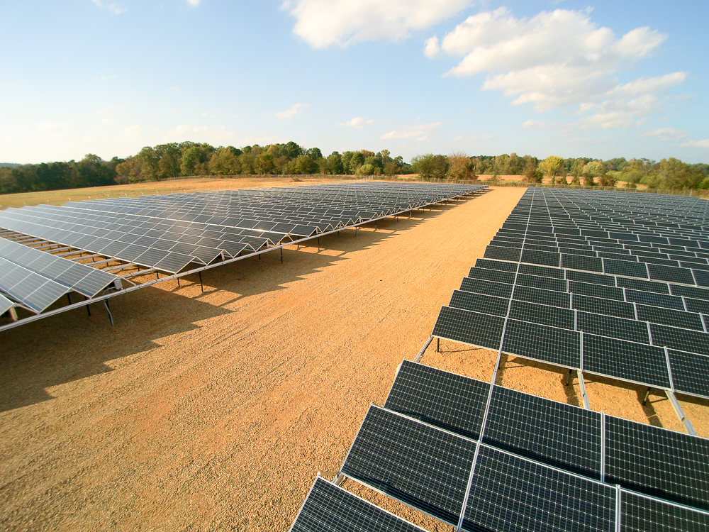 Not all solar is created equal - Each of our utility scale project are customized to meet your needs.