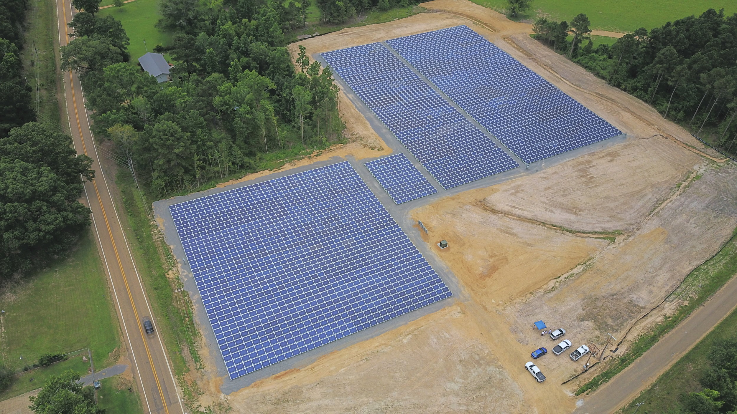 Ouachita Electric Cooperative - 1.6 MW | Fixed-Ground Mounted System