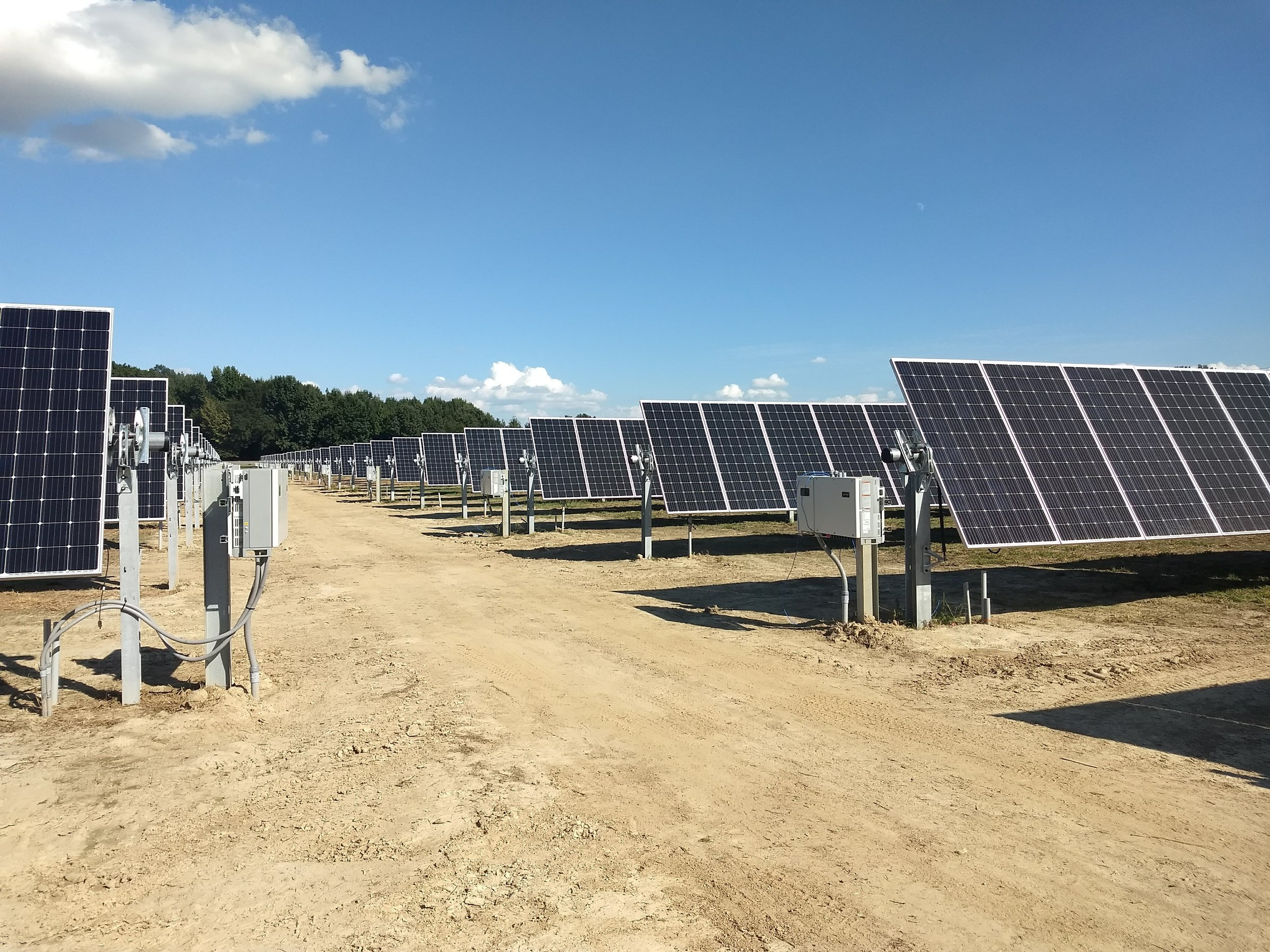 Craighead Electric Cooperative - 1.4 MW | Single-Axis Tracking System
