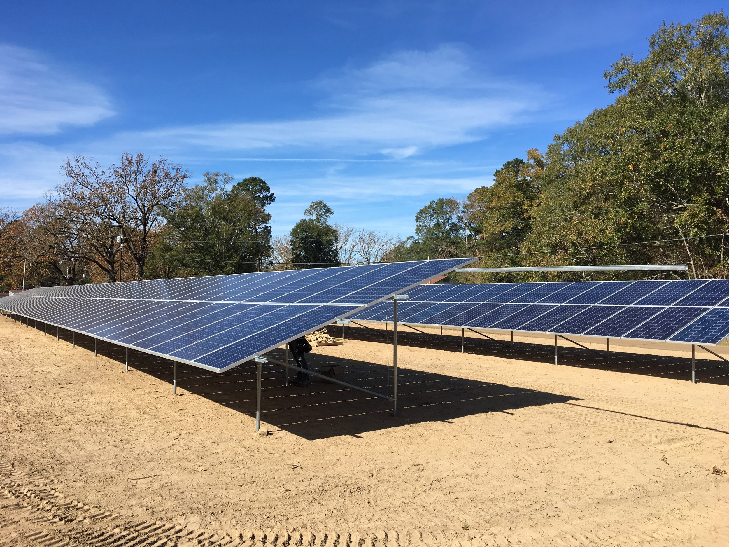 South Arkansas Telephone Company - 120 kW | Fixed-Ground Mounted System