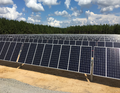 Ashley-Chicot Electric Cooperative - 1.4 MW | Single-Axis Tracking System