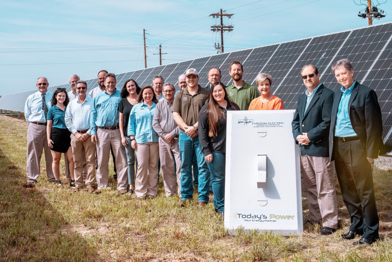 Farmers Electric Cooperative - 1.4 MW | Single-Axis Tracking System