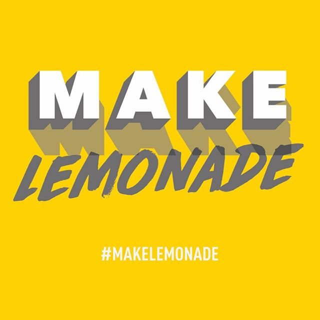 Here's a teaser for #humpday The Make Lemonade collection for 2019 will be all about good vibes, and saying 'screw it' to negativity and doubt. It's all about staying rad and believing in dreams! #makelemonade #stayrad - heroandcape.com -