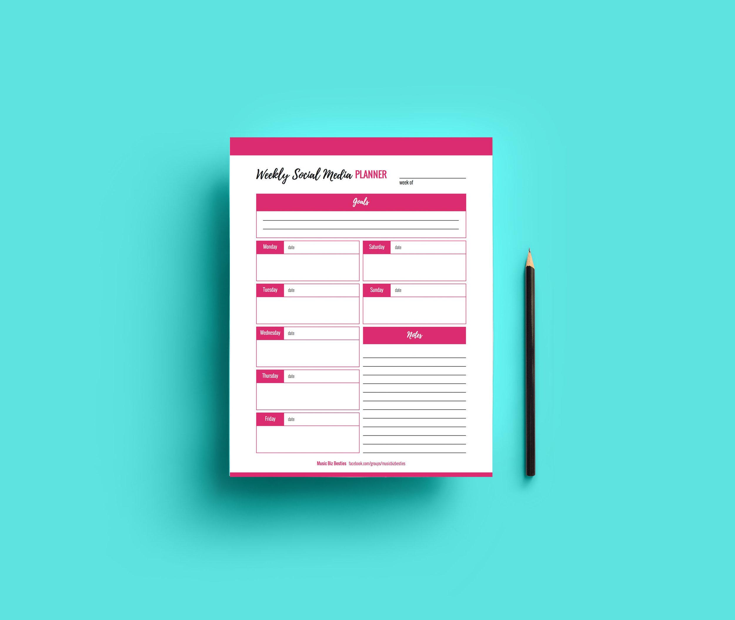 Social Media Planner