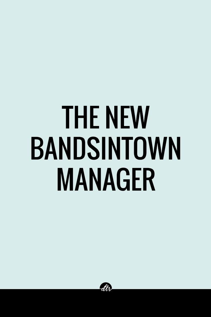 New Bandsintown Manager Beta platform