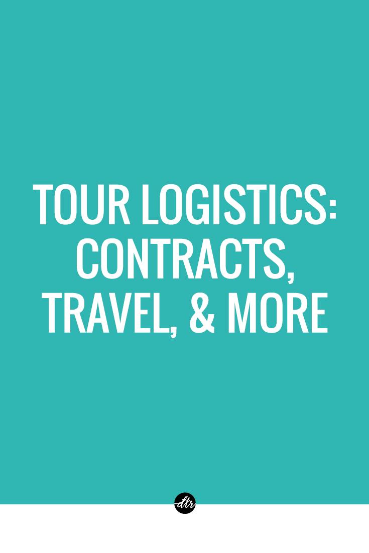 Tour Logistics   Concert Contracts, Travel, & More