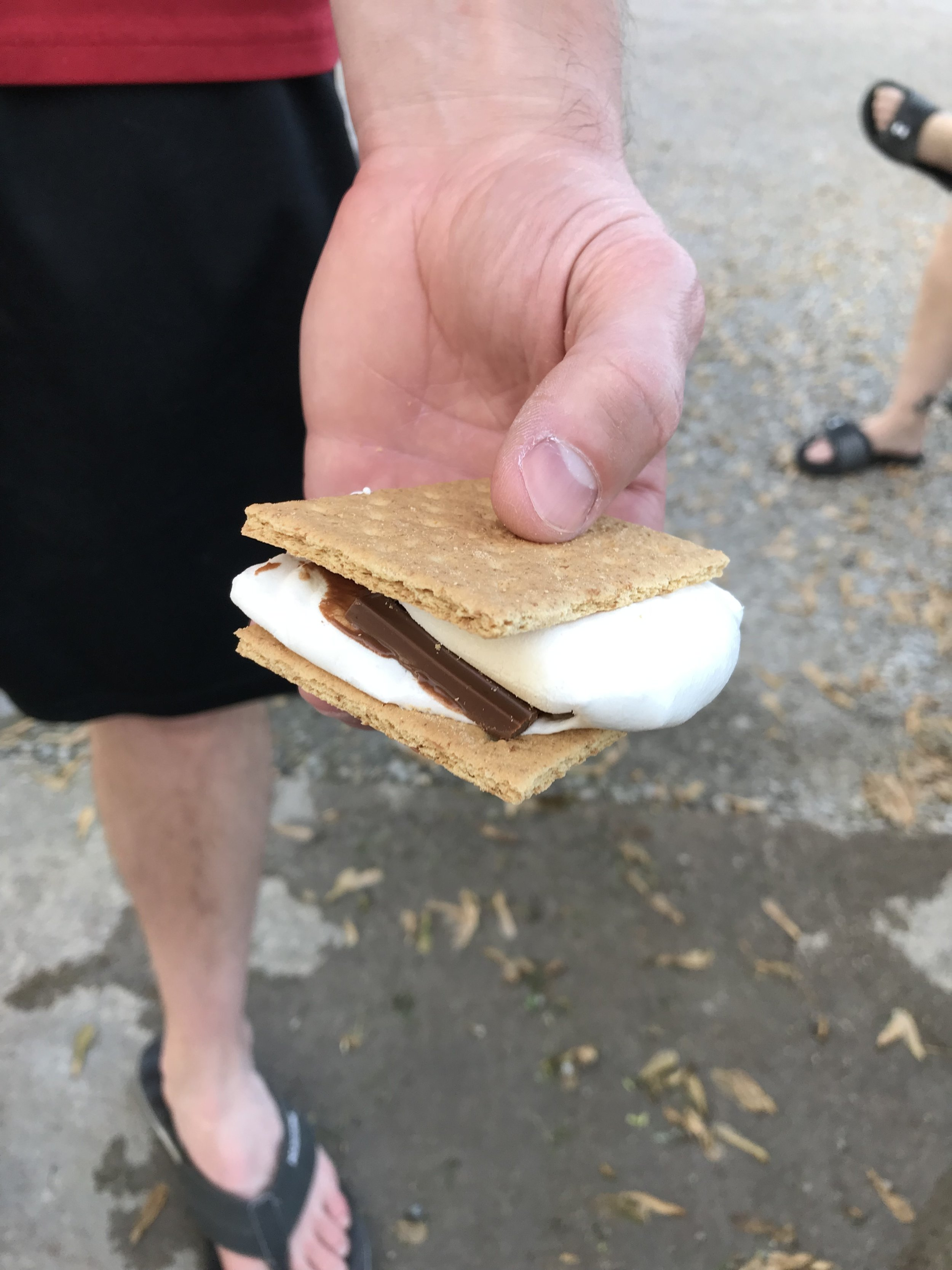 3 s'mores