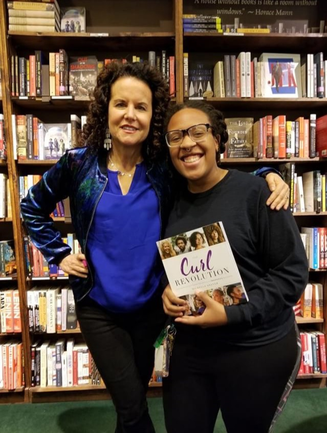 Michelle Breyer, Co-Founder of NaturallyCurly.com Book Tour
