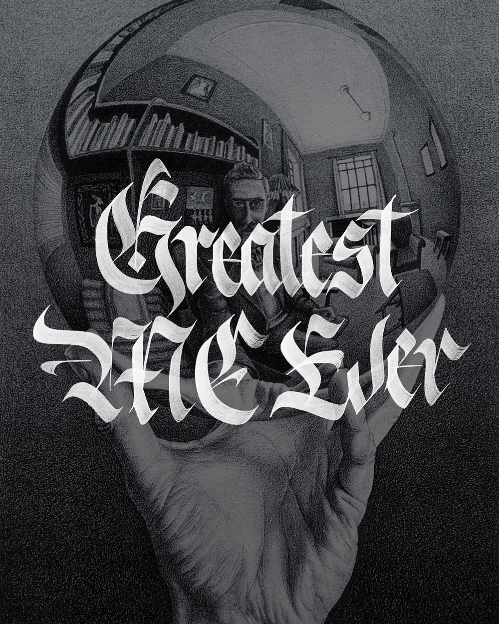 Greatest MC Escher Ever Goldraffiti