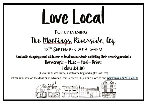 Returning to Ely at last this Thursday evening for the @lovelane2014  pop-up event. It has been too too long! Very much hoping to bump into some familiar cheesey faces 🧀 and looking forward to a natter with fellow traders and @meadows_camb suppliers @bumbleandoak @threebyoneeu and @grainculturehq .  Who else is coming?