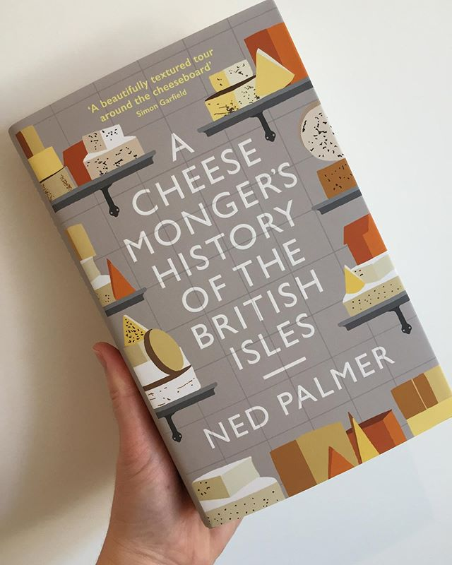 Best delivery of the week has just landed in the shop.  You can't have it until the publication day next week but I just wanted to reassure you that it is here so do send me a message to reserve your copy for collection next Thursday from 10am 📖📙🧀💛