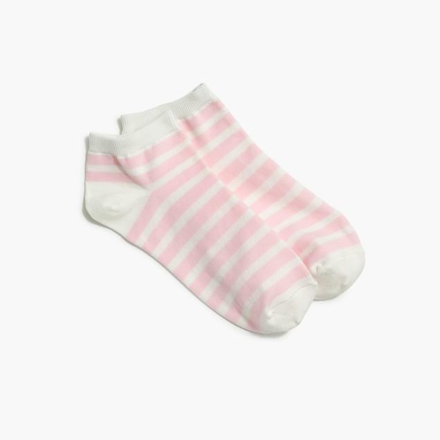 J.Crew striped athletic socks, so sweet!