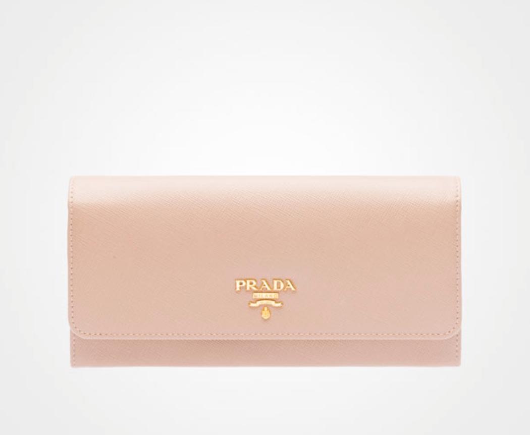 Prada - Pink Wallet