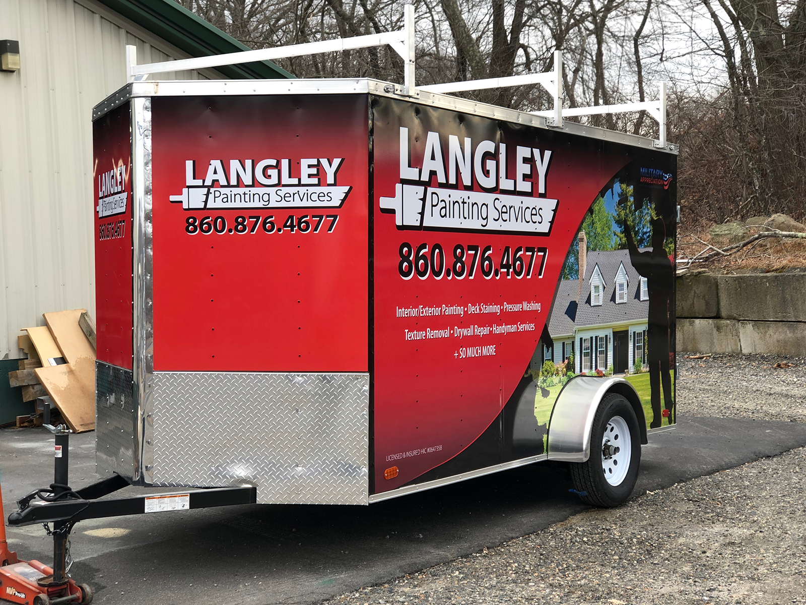 Langley Trailer Wrap Black Version