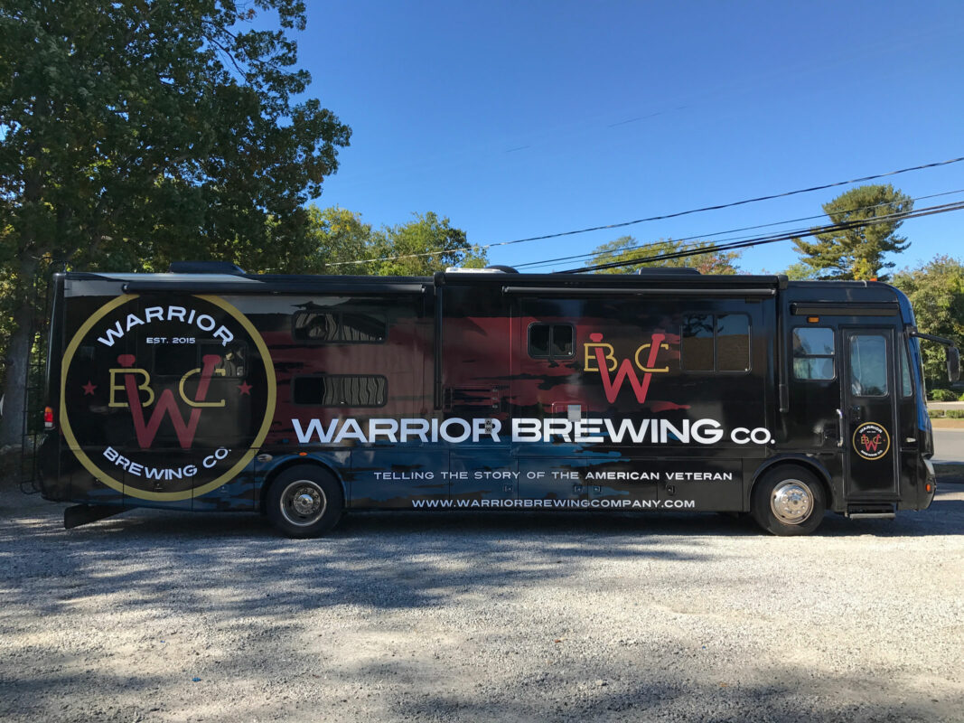 Warrior Brewing Tour RV