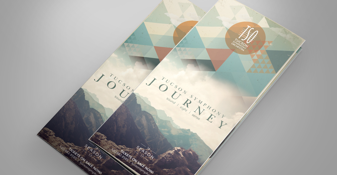 Tucson Symphony Orchestra • 2016 Single Ticket Brochure Cover Design