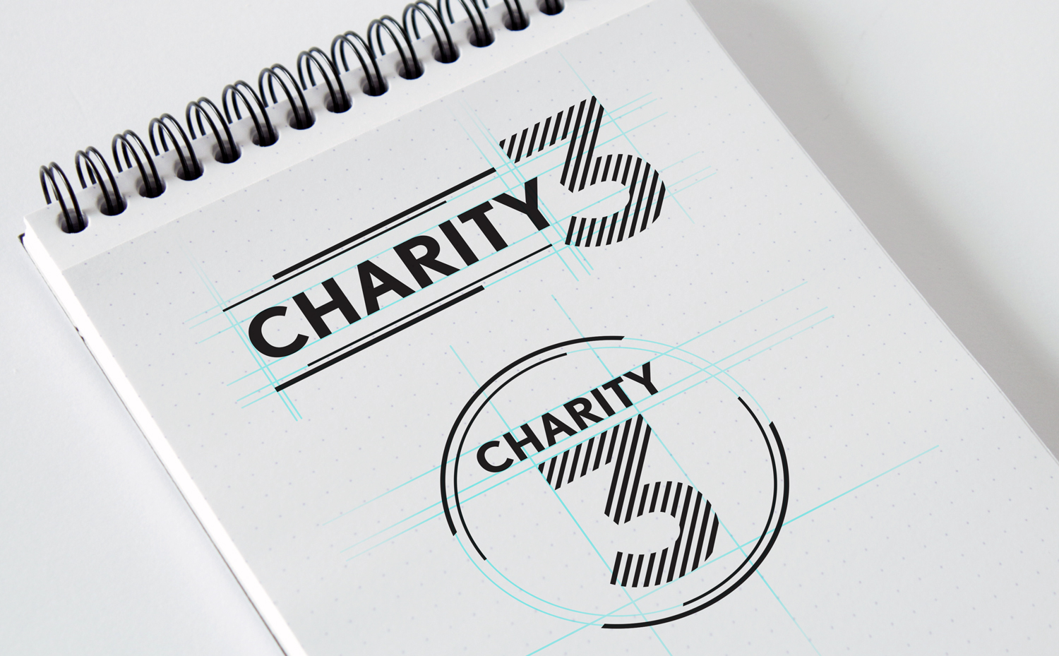 Lexus of Tucson • Charity 3, Horizontal and Vertical Logo Design