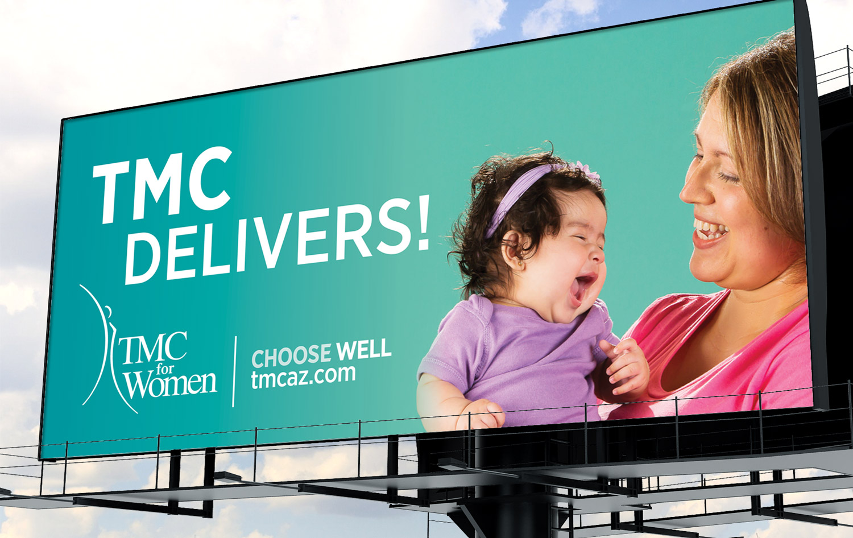 Tucson Medical Center • TMC for Women Outdoor Billboard
