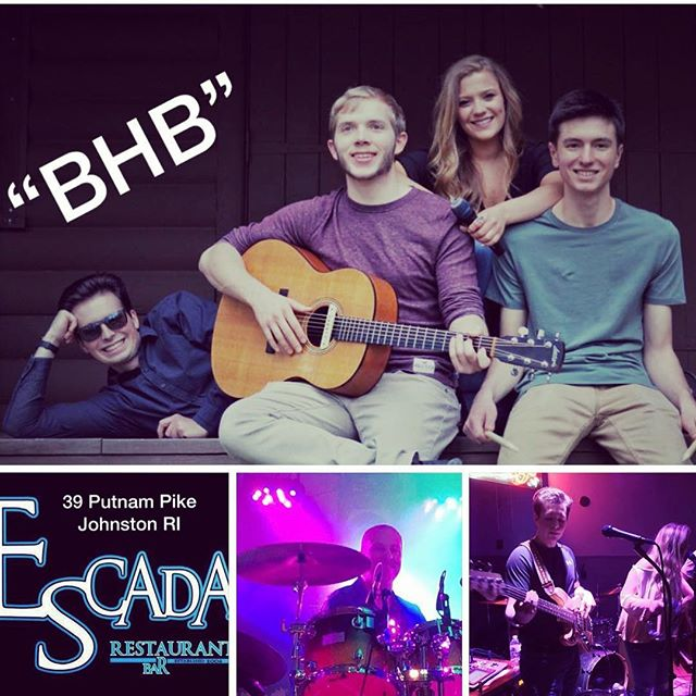 """Tonight """"BHB"""" & special guest Joe Sardo will be at ESCADA... get yourself there for a great night of music! #bhbclassics #classicrock #fridaynight"""