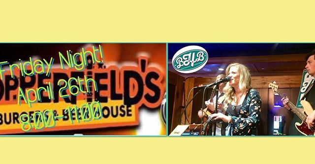 It's FRIDAY! Tonight hang with us @copperfieldsri  starting at 8:00! Beer, Burgers & Live Music makes a perfect start to your weekend! @bhb.band #fridaynightlights #weekend #jamming #classicrock #burgers #bhbclassics