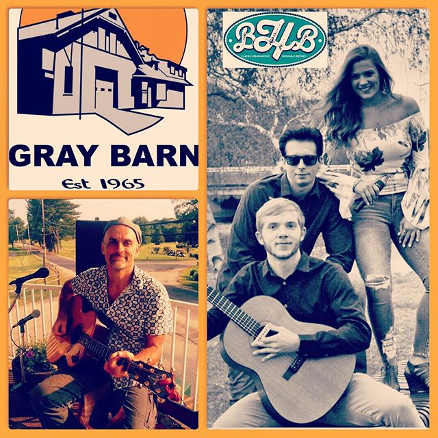 """BHB"" heading to The Barn Saturday Night!  Come out and Jamm with us Saturday Night @the gray barn! So excited to have the amazing Ray Cooke joining us! Great  night of music & fun ahead! #bhbclassics #saturdaynight #livemusic #localmusic #lovewhatwedo #classics"