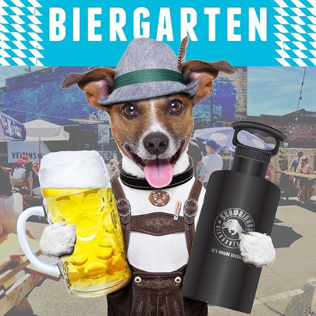 Dude, you can buy these growlers at the Biergarten after class! . See you in August! Make sure to snag a ticket  here.