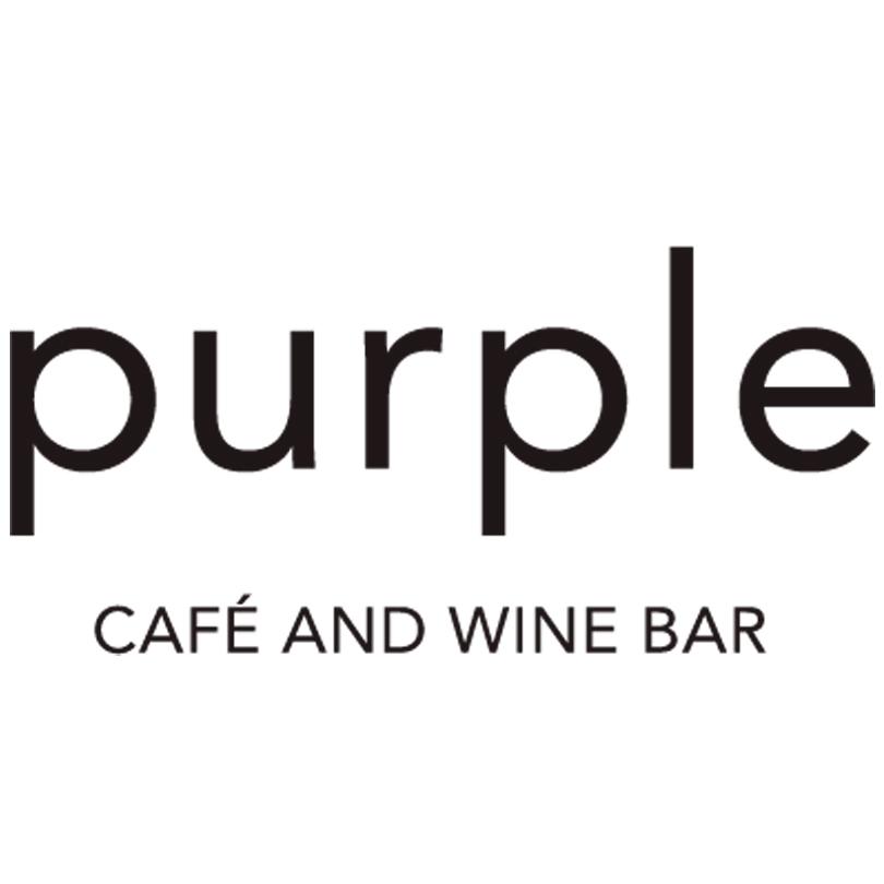 Purple Cafe and Wine Bar Logo   Just Add Yoga Partner