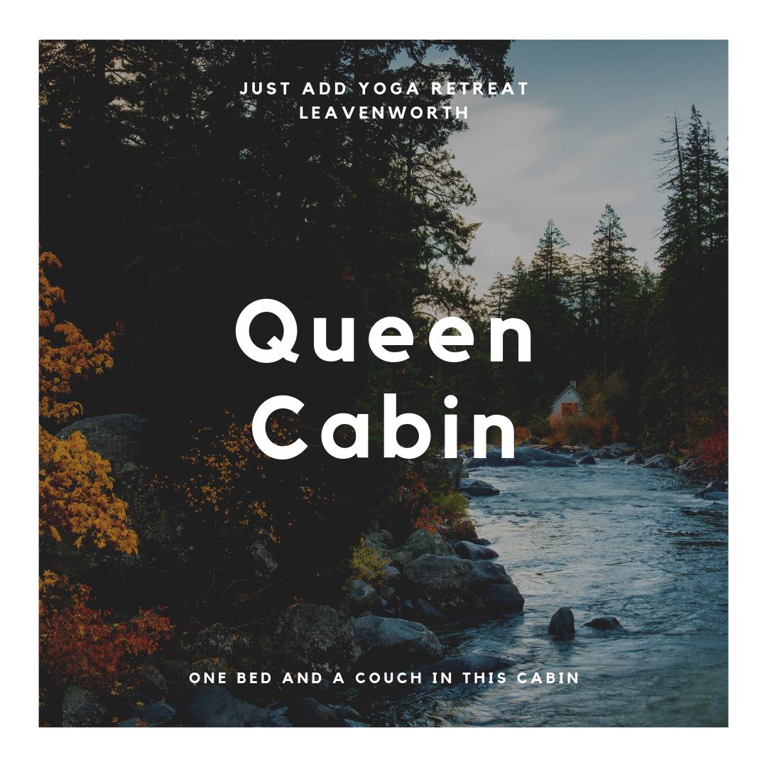 Leavenworth Cabins - Queen Room.png