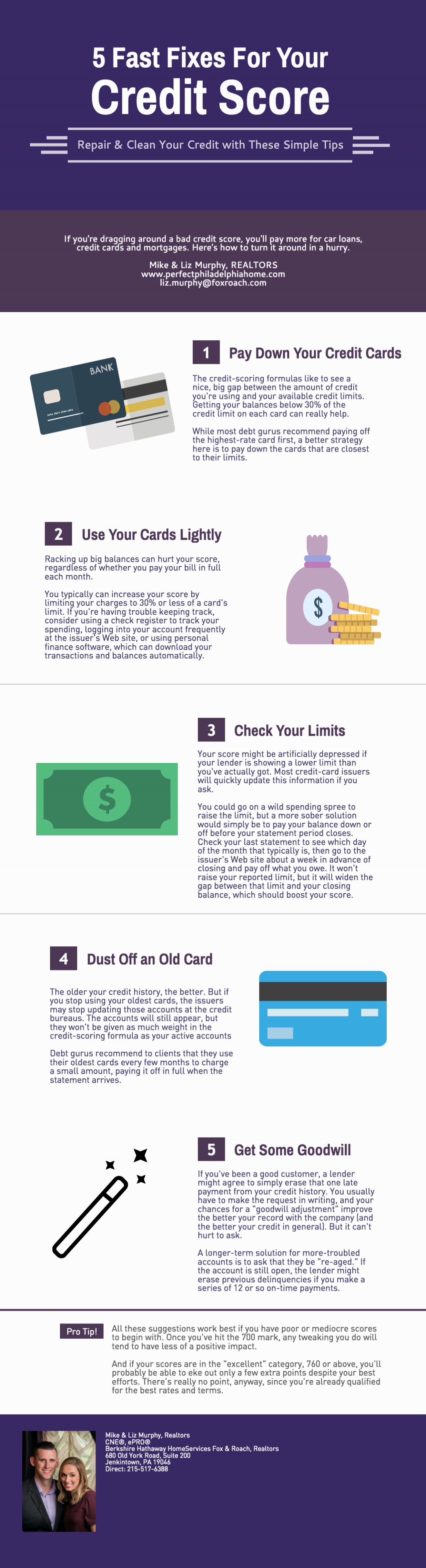 5 Fast Fixes For Your Credit Score