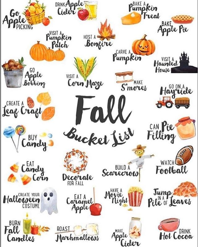 It is going to be a beautiful fall weekend! 🍂🍎🥧 Time to cross off some items from your fall bucket list! 🎃 👻  Which items are you going to tackle this weekend? 🏈⚽️⚾️ #realtor #realestate #realestatelife #lightersideofrealestate #philadelphia #philly #phillyrealestate #phillyrealtor #montgomerycounty #buckscounty #ccphilly #luxuryhome #luxuryhomes #welcomehome #homesweethome #homestarr #homestarrrealty #home #perfectphiladelphiahome #fall #halloween #fallweekend #foxchase