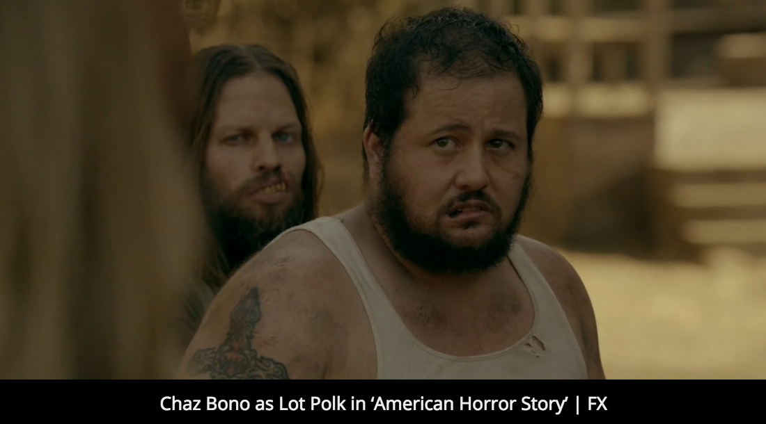 "FAN FEST: "" Interview with Chaz Bono: The 'American Horror Story' Star Has a Passion for Acting """