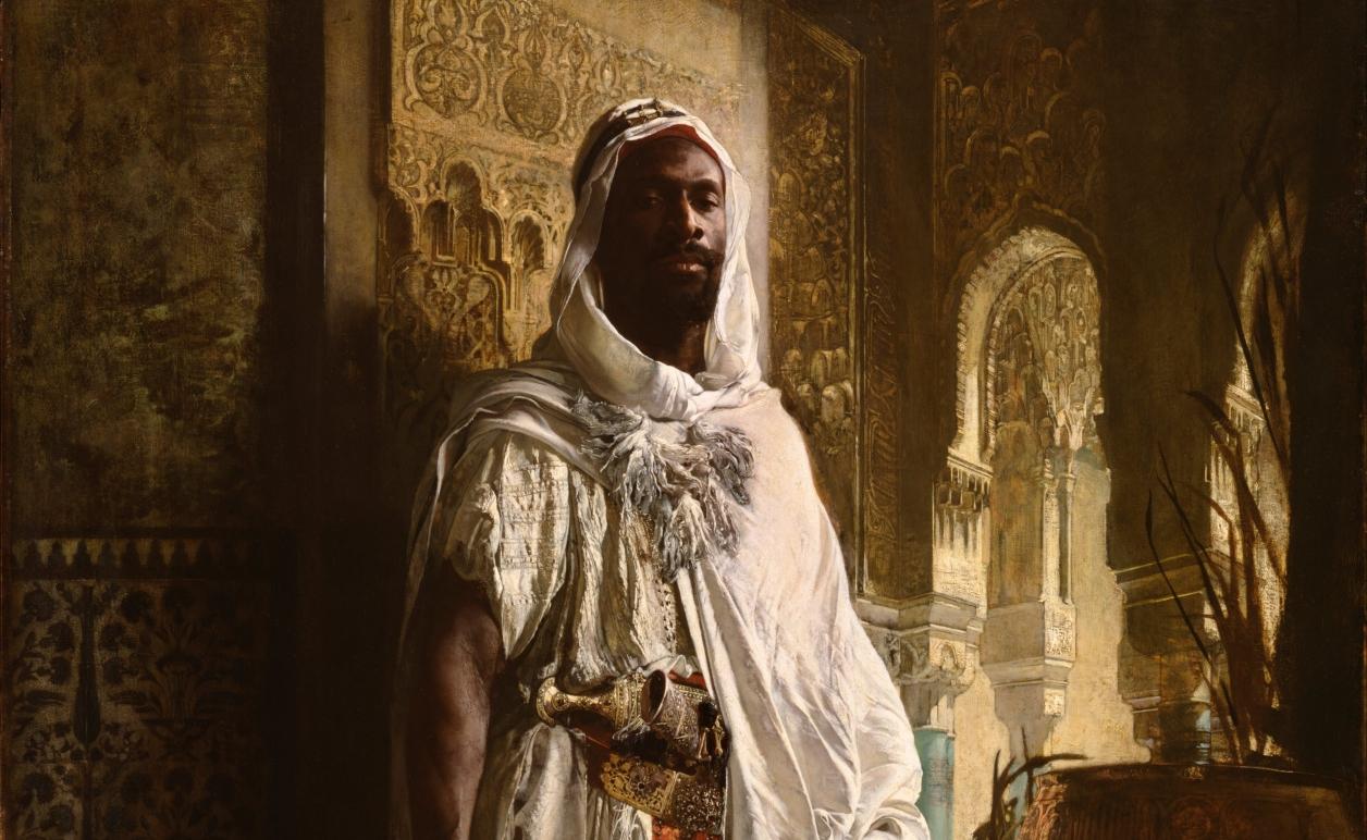 The Moorish Chief  c. 1878 // courtesy of Wiki Commons