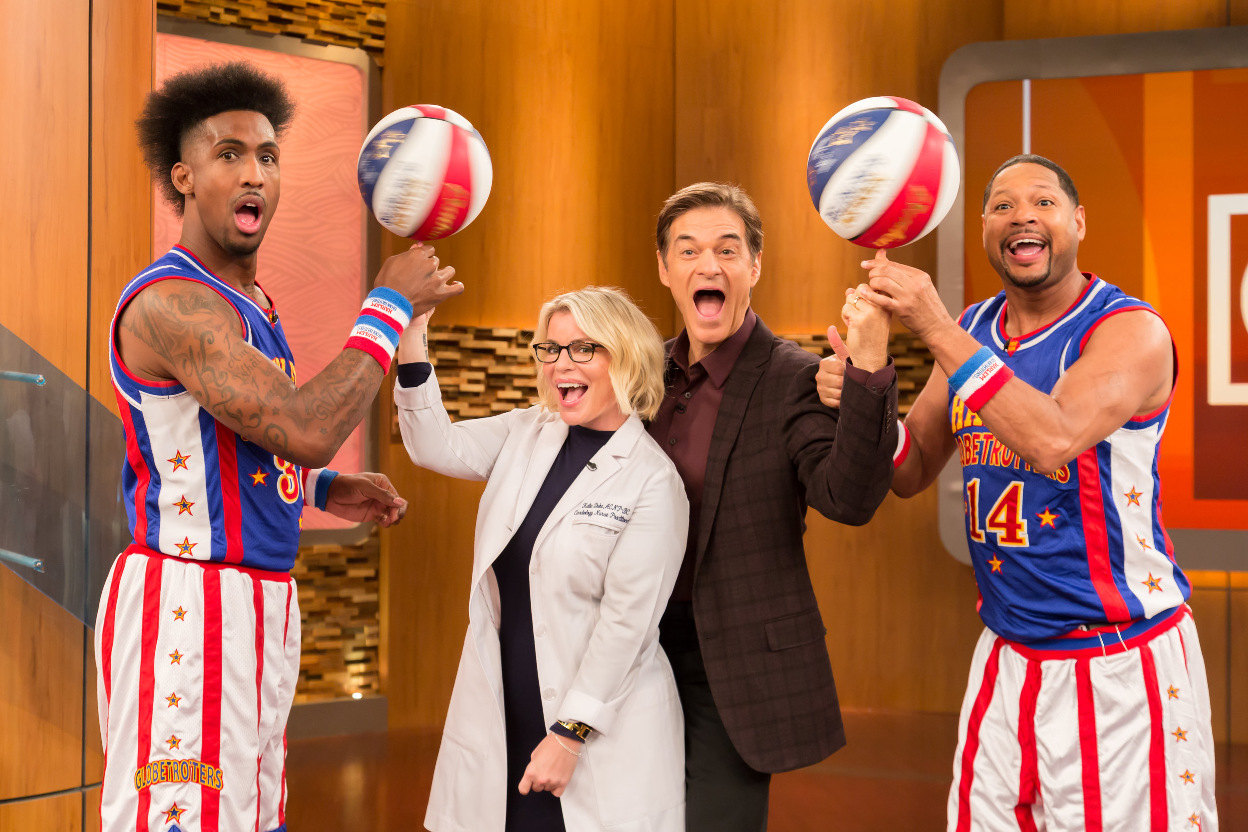 Harlem Globetrotters on The Doctor OZ Show