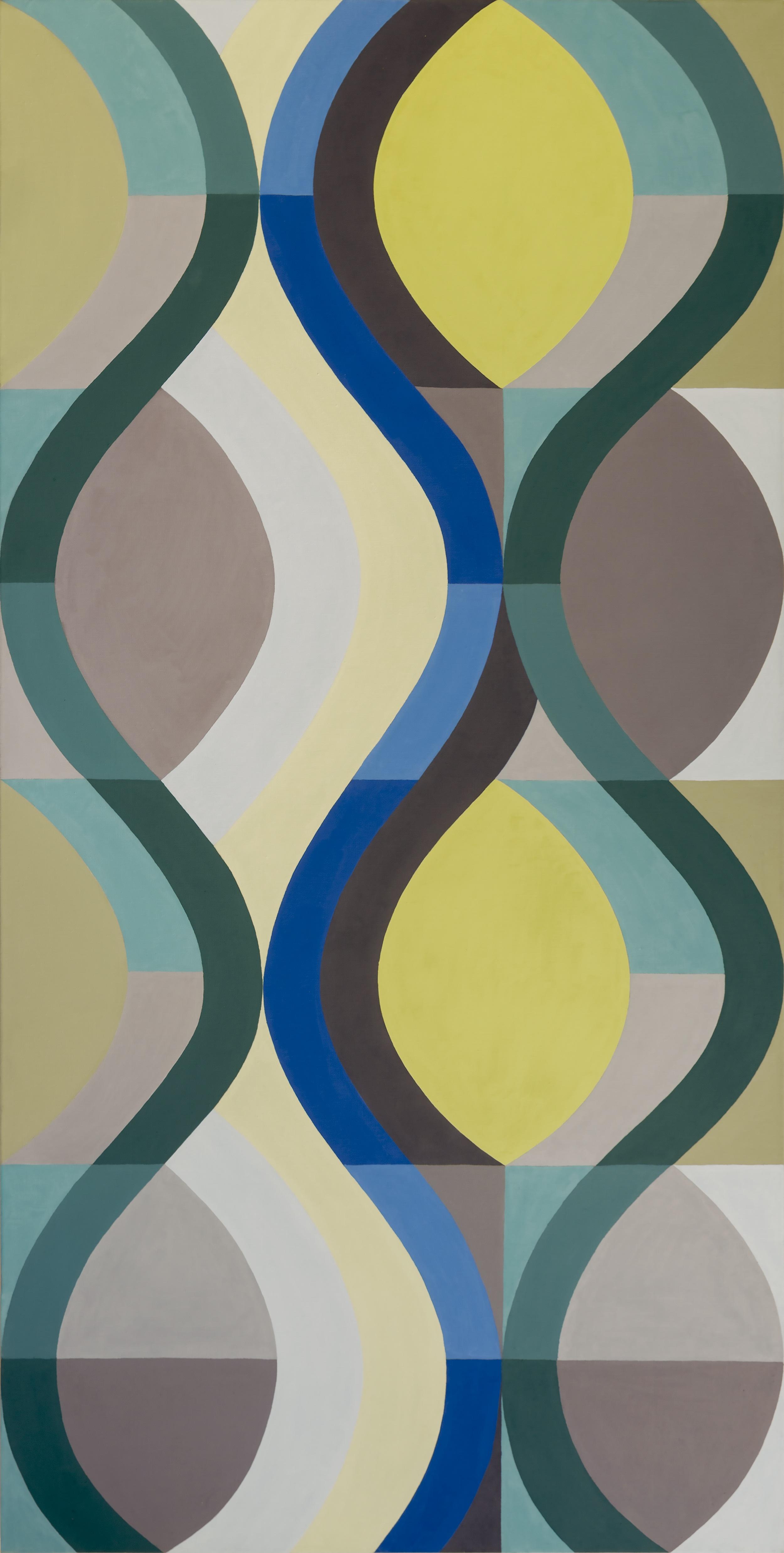 VSH #4, Oil on Linen, 64 x 32