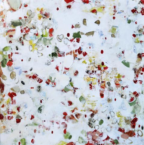 Hot Stuff, Mixed Media on Canvas, 48 x 48
