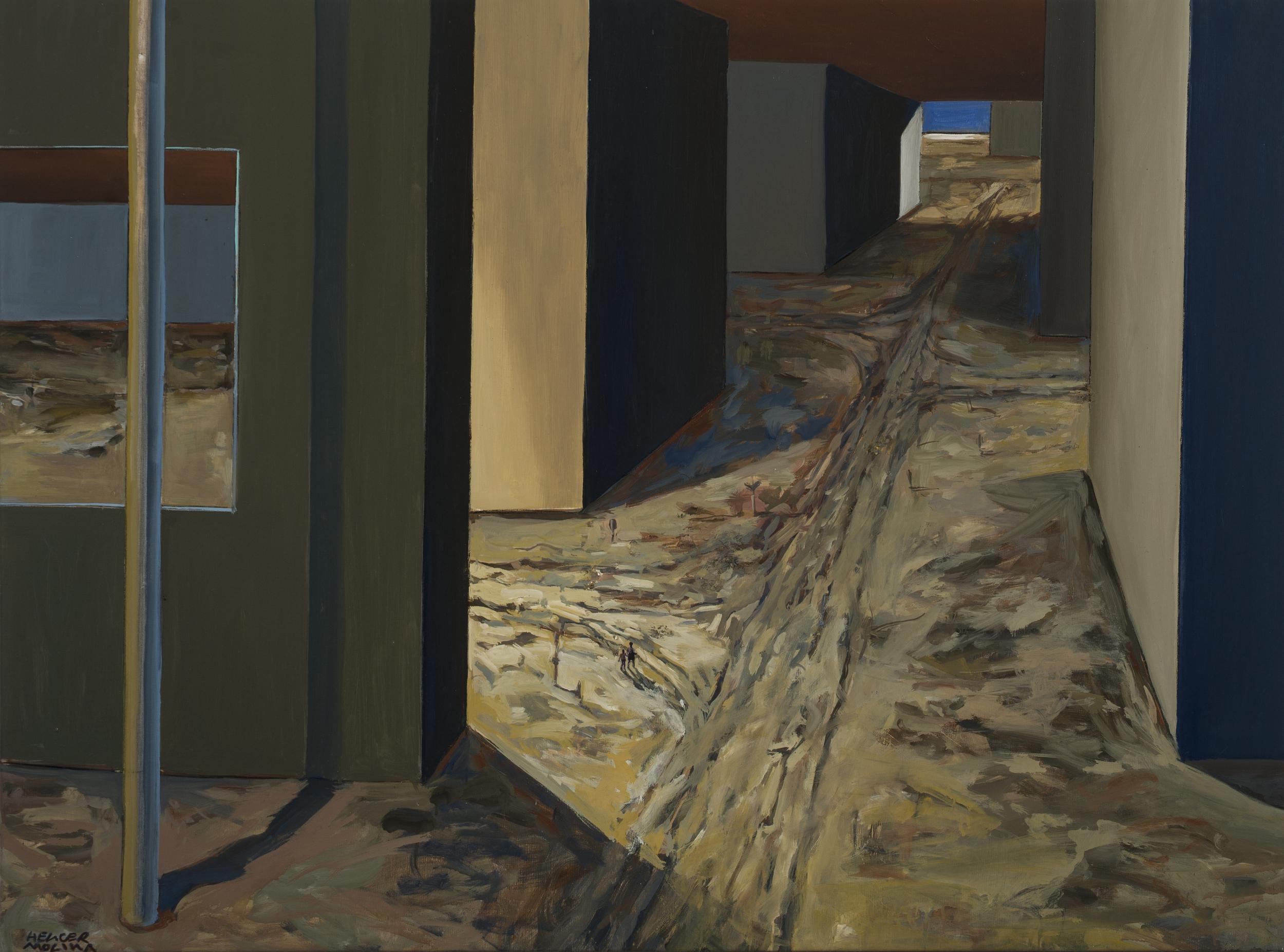 The Return, Oil on Canvas, 38 x 51