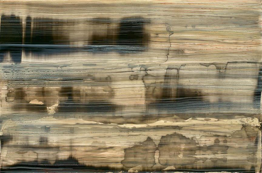 Spillway 1212, Mixed Media on Dibond Aluminum, 32 x 48