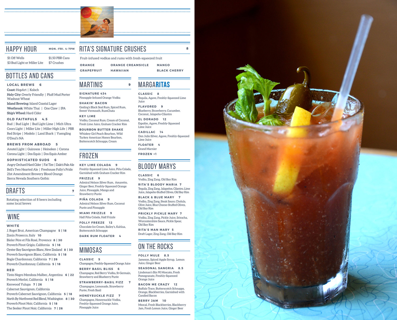 Rita's Seaside Grille — Cait Maloney Creative