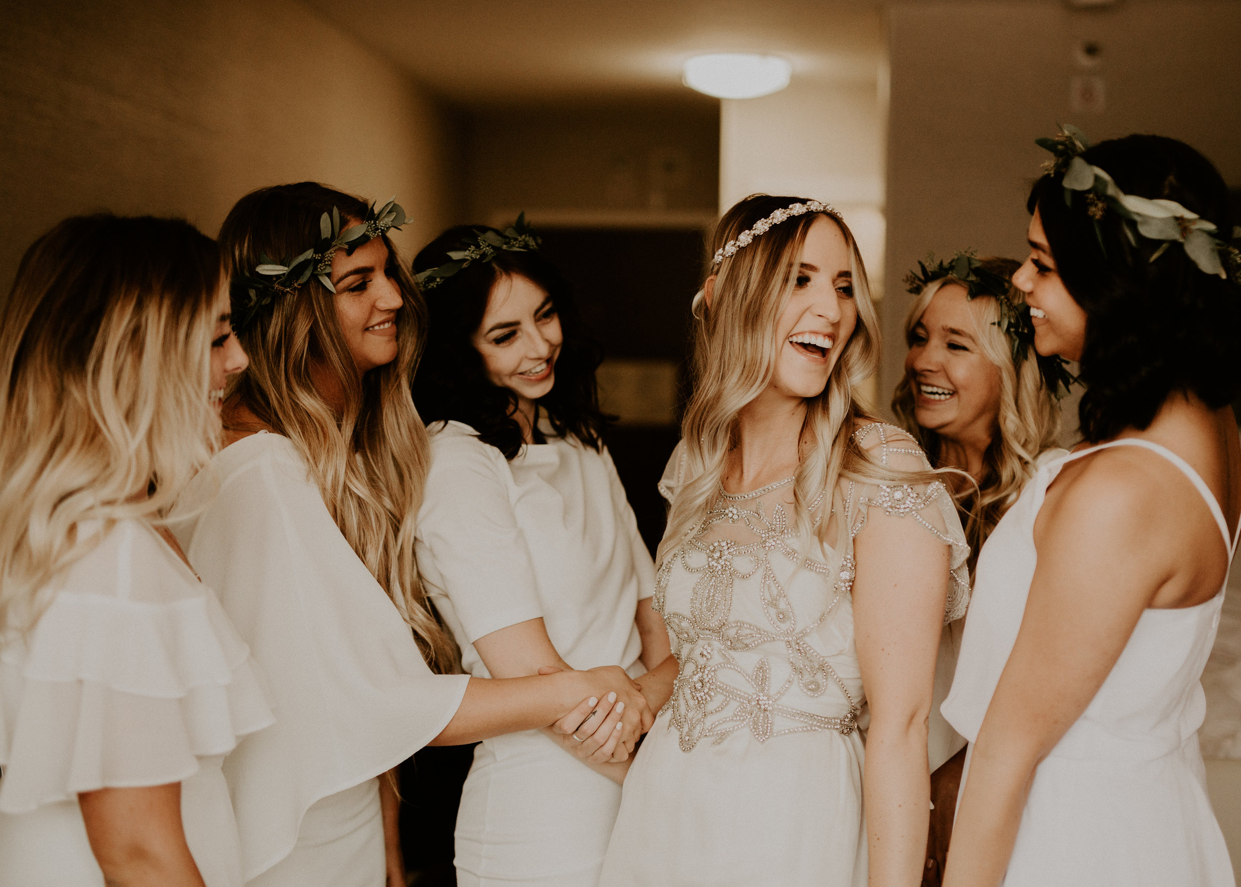 - 4. My fourth tip is to DELEGATE. Give your bridesmaids tasks to be in charge of on your special day so you can truly enjoy it! Have people help set up the decor so you don't have to worry about that stuff. Seems super simple but really, use your bridal party to your advantage!!