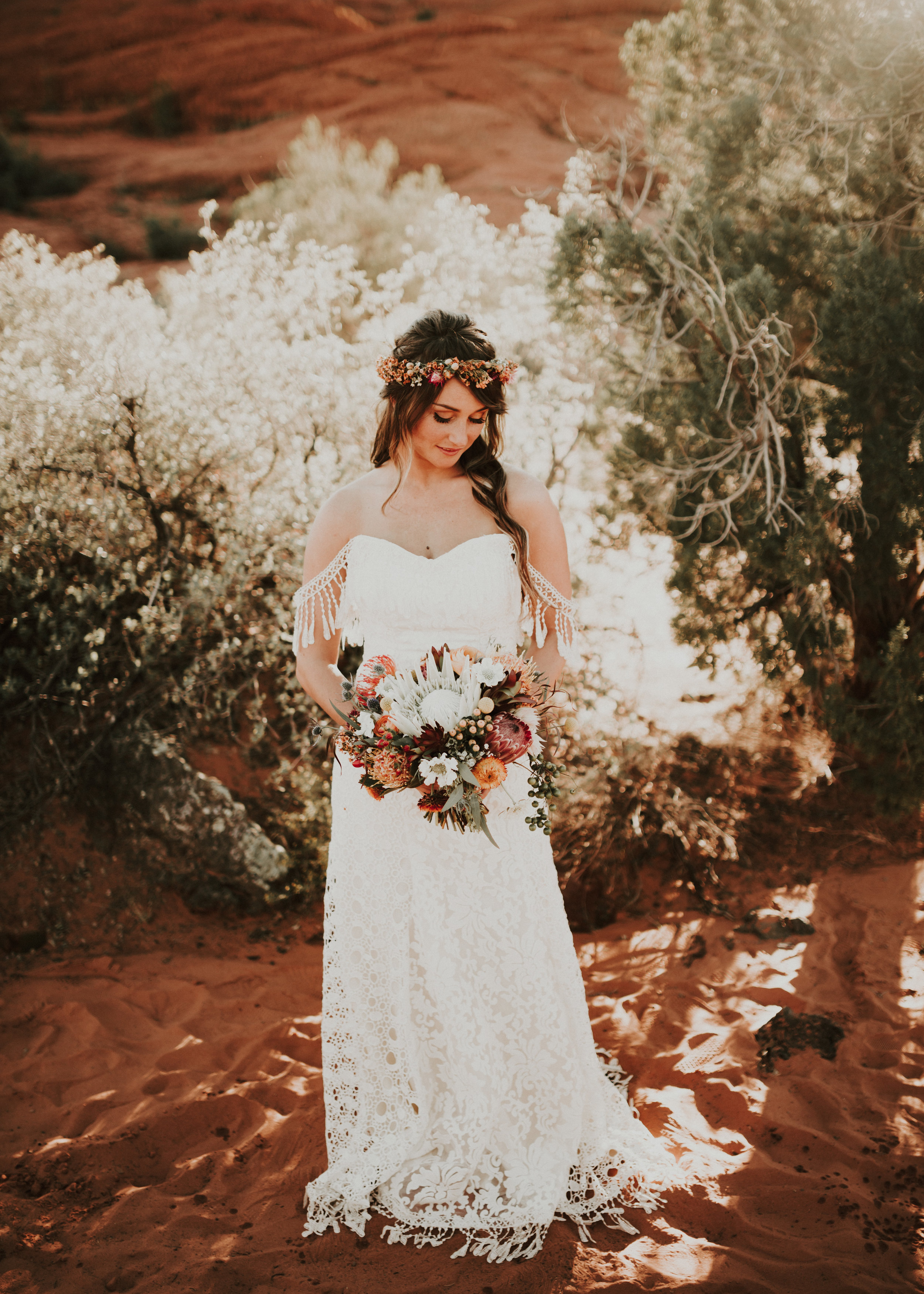 Bridals of Beautiful Saint George Bride