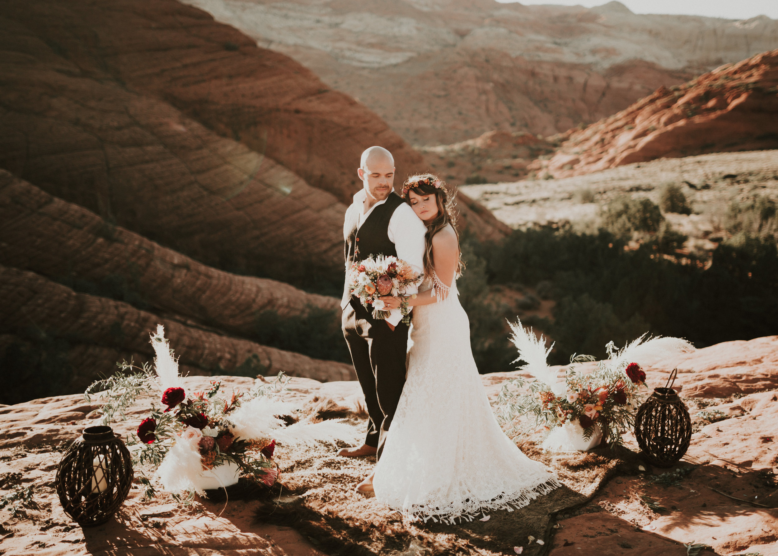 Destination elopement wedding